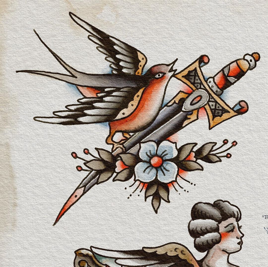 Available for tattoo -contact: matthias@zeitgeist-tattoo.com with @thespitshadin