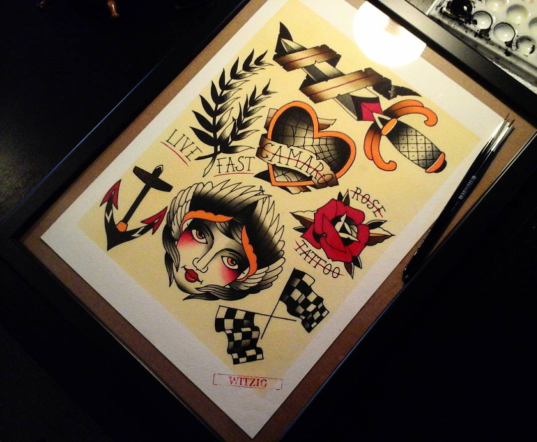 And the second flashset for @kustomkulturetattooshow ....if you are interested,