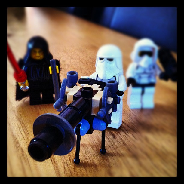 Checking out my brother-in-law's Lego Star Wars Collection #starwars#lego#stormt...