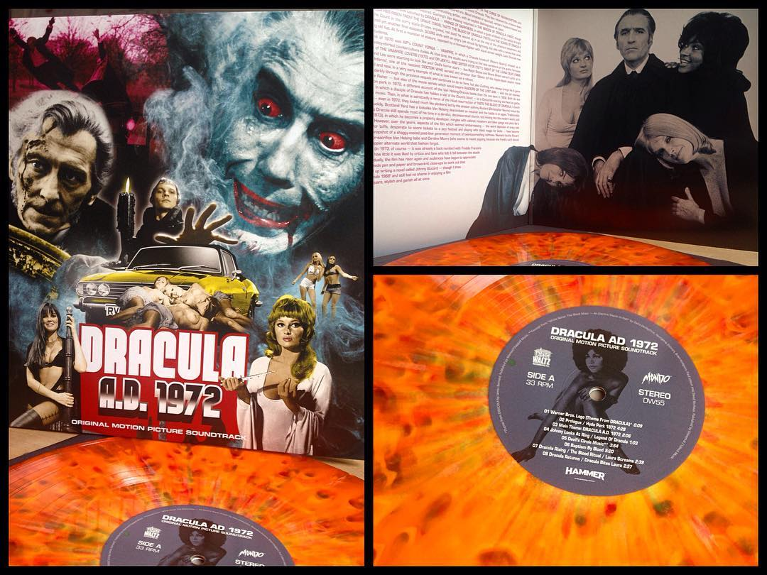 Couldn't be more happy with this sweeeet Dracula AD 1972 soundtrack that came in...