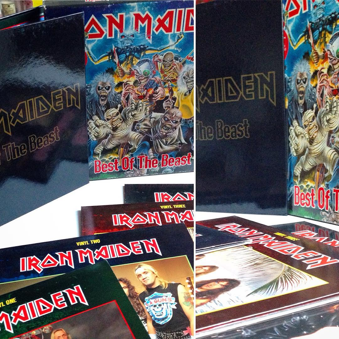 DAY 15 - Box Set  Iron Maiden - Best of the Beast  Being a huge fan of the Band ...