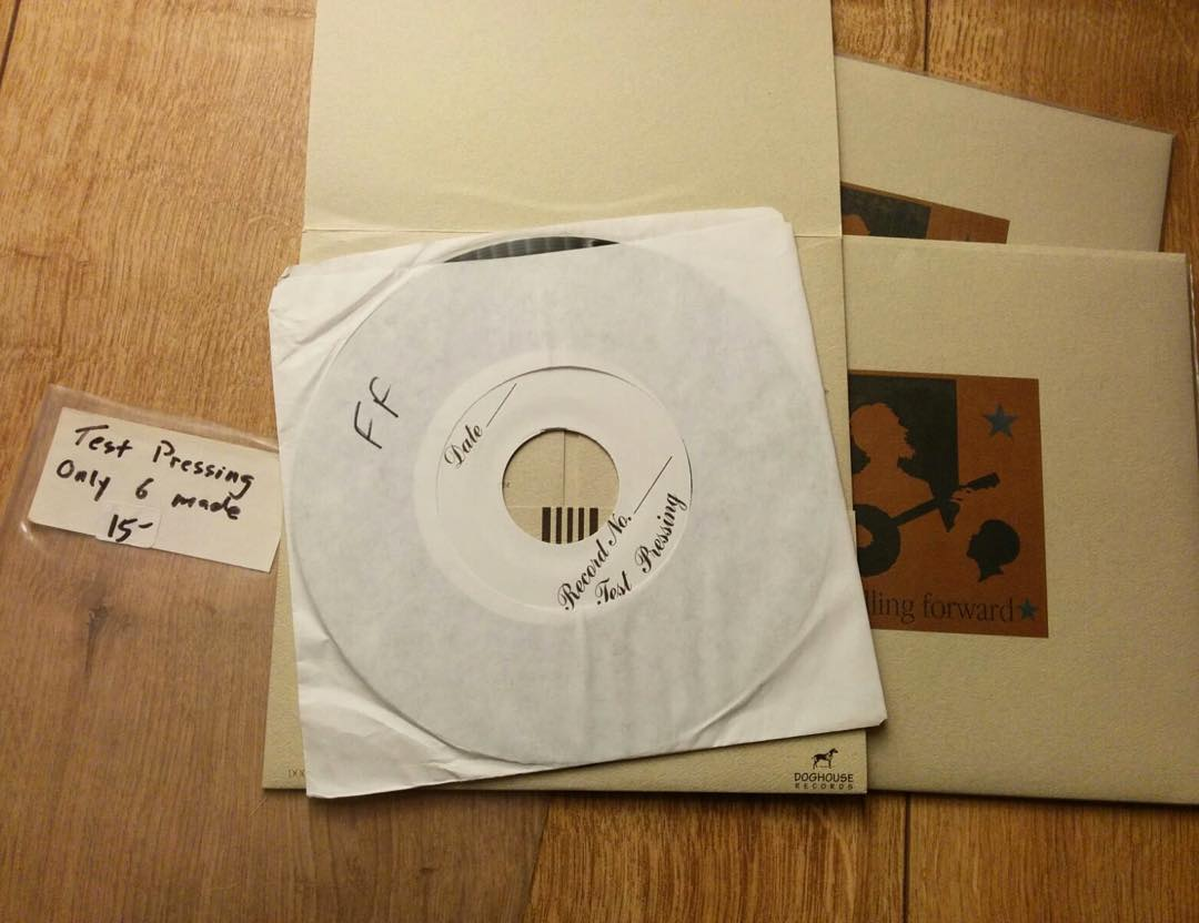 """DAY 19 - Testpress Tuesday  Falling Forward - s/t 7""""  I bought this one at a sho..."""