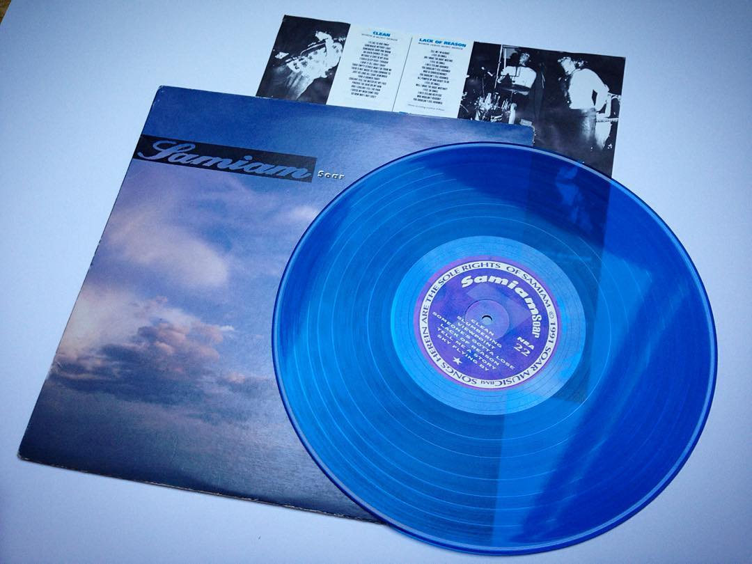 DAY 25 - favorite blue record/Blue Monday  Samiam - Soar  Not only my favorite a...