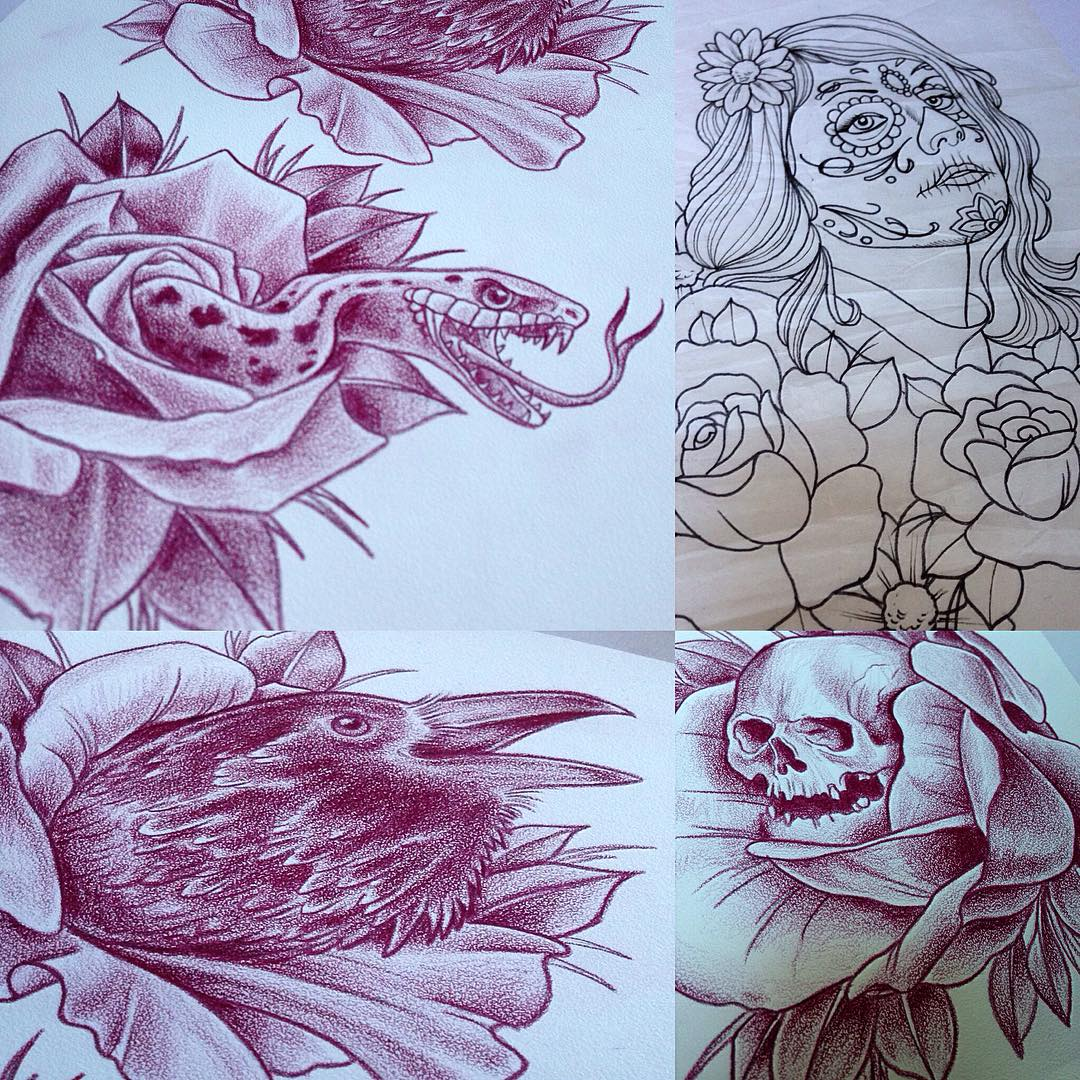 Denmark! I will be working at Royal Tattoo in Helsingør next week and still have...