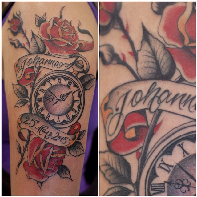 Did @zeitgeisttattoo  One session, thanks to customer for sitting like a rock, #