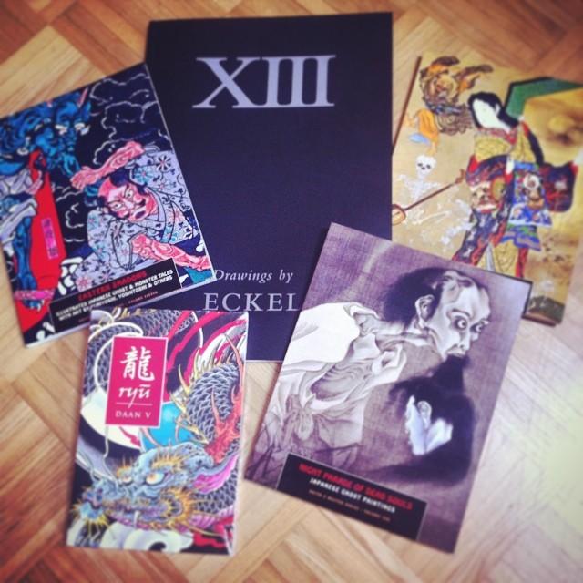 Dortmund Convention book haul! #tattoo #tattooing #tattooart#books#japanese#orie...