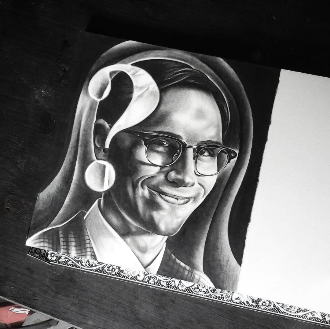Ended edward nygma this morning....thanks for looking #germantattooers #tattoowo