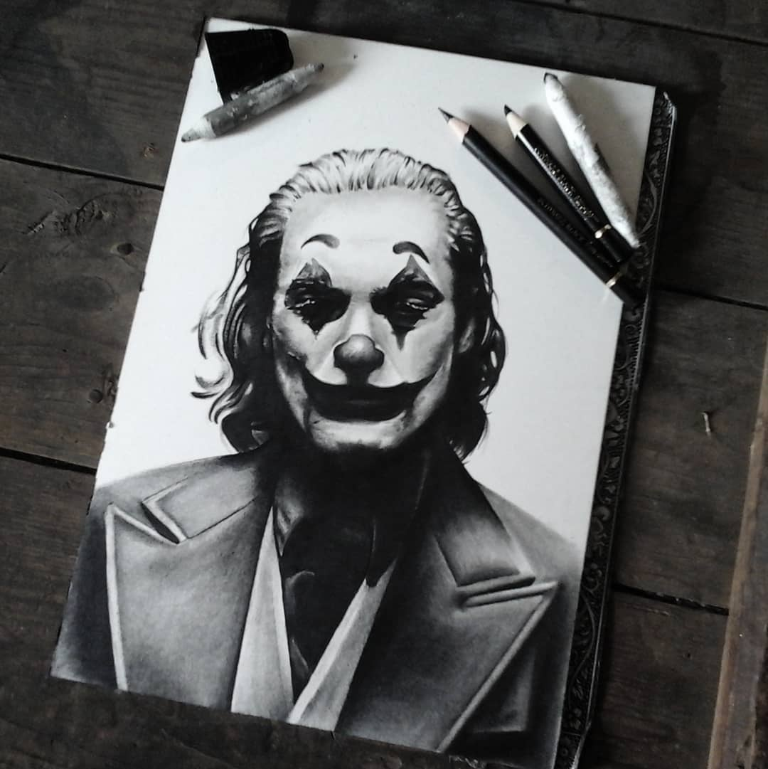 Finally done with the new joker, can't wait to see the movie.  @dccomics @joaqui