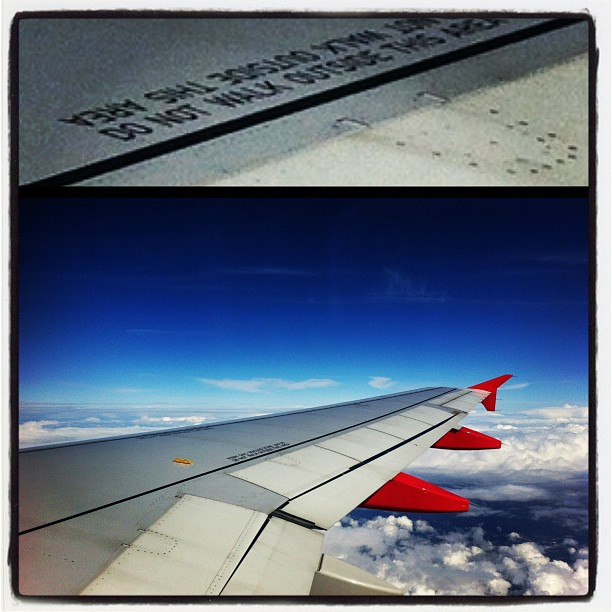 Hello Købnhavn #air#airplane#plane#sky#heaven#clouds#wing#blue#bluesky#travel...