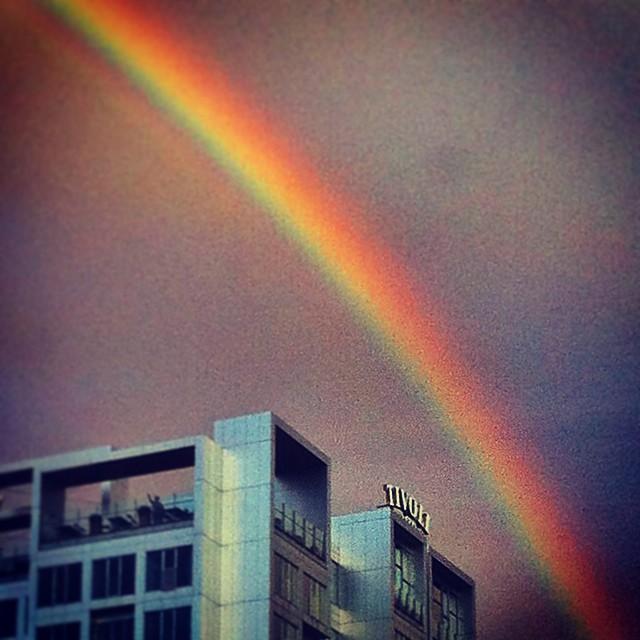 Here we ago again...#københavn#copenhagen #denmark #danmark#tivoli#rainbow#trave...