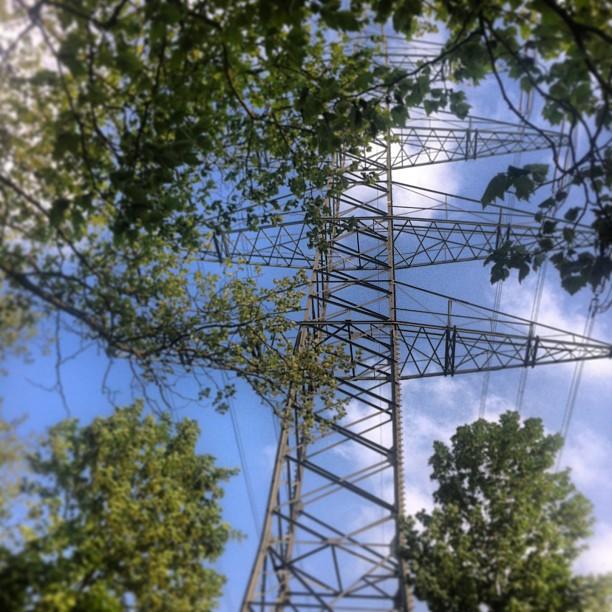Home. #ruhrpott#ruhrgebiet#herten#recklinghausen #ewaldsee#nature#industrial#sky...
