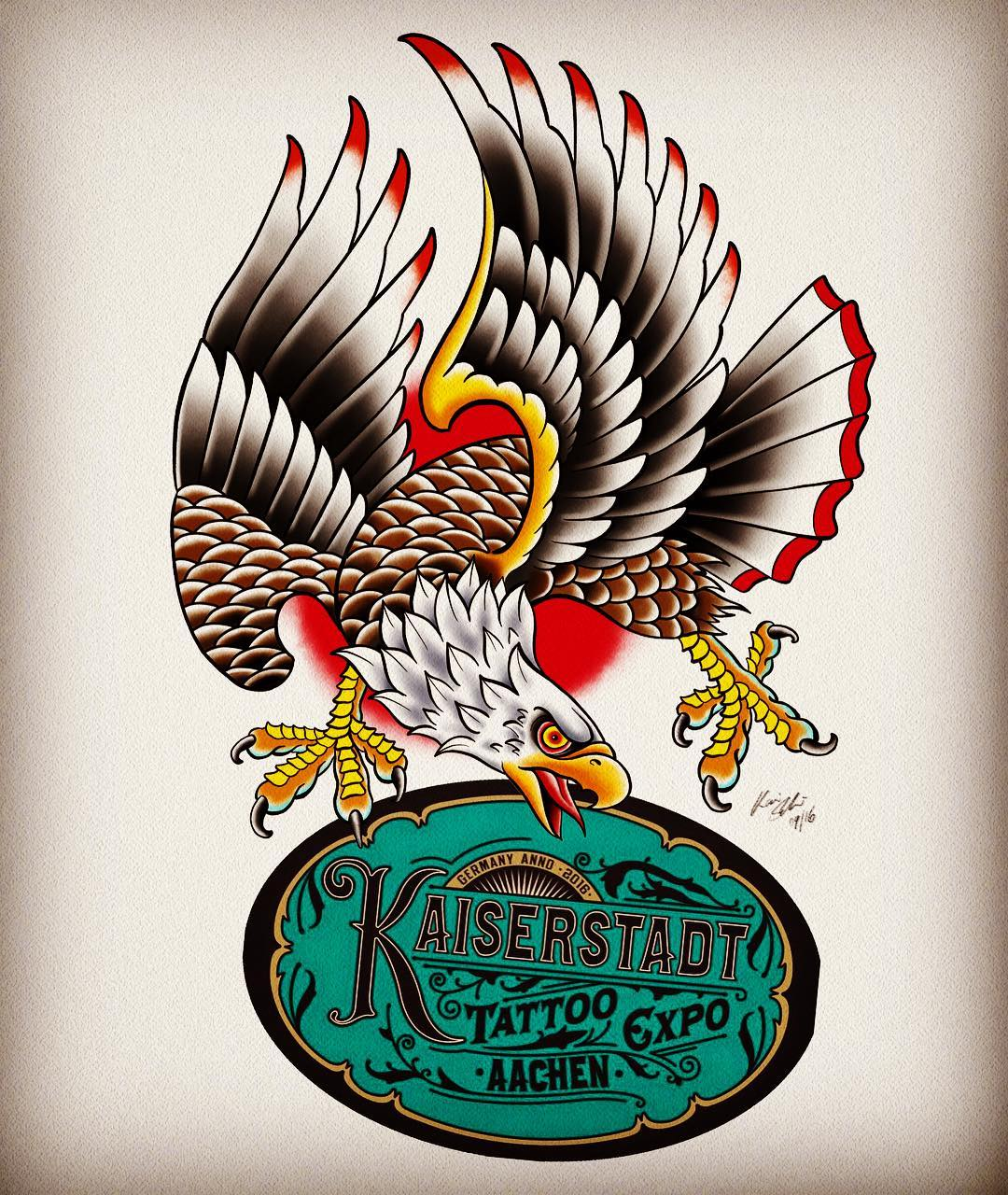 I'll be working @kaiserstadt_tattoo_expo_aachen this upcoming weekend and have f...