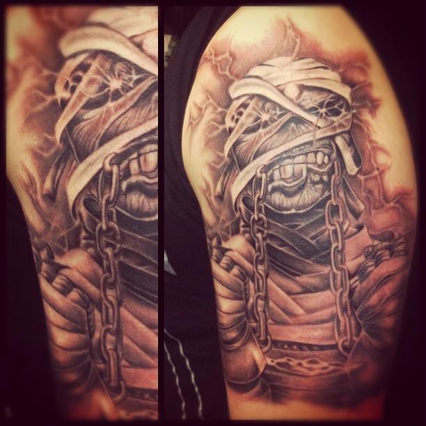 Iron f***in' Maiden! #tattoo #tattooing #ruhrpott #ironmaiden#maiden#uptheirons#...