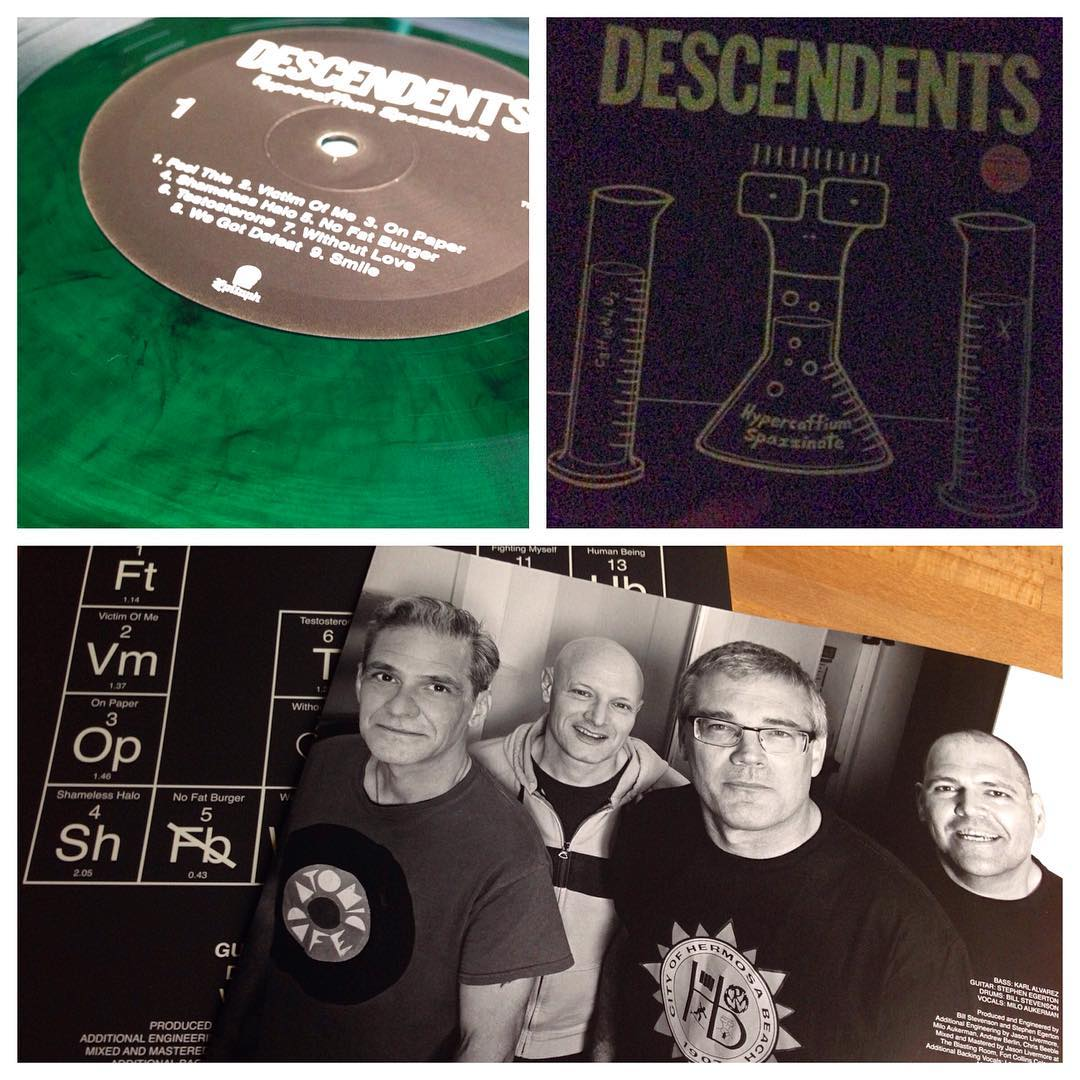 It's on! Album of the year finally arrived on vinyl!  Limited Clear Green/Black ...
