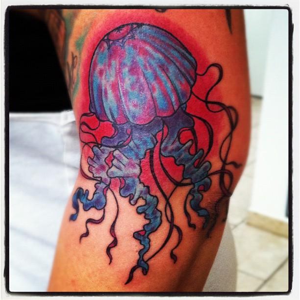 Jellyfish from my Brussels Flash Sheet #tattoo #tattooart #brussels #bruxelles #...