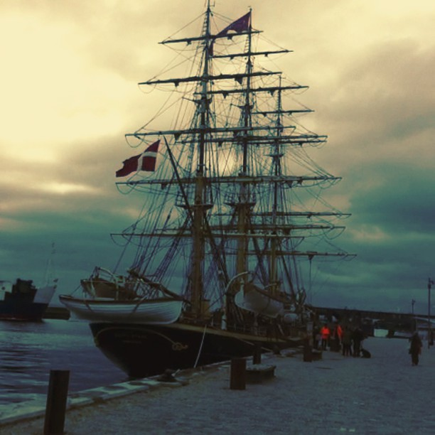 Last Day in Helsingør...for now #helsingør #helsingborg #ferry#ship#oldship#pira...