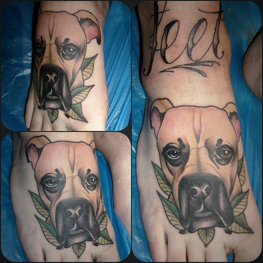 Little doggy from last week....hadna lot of fun doing this..thx for looking #ger