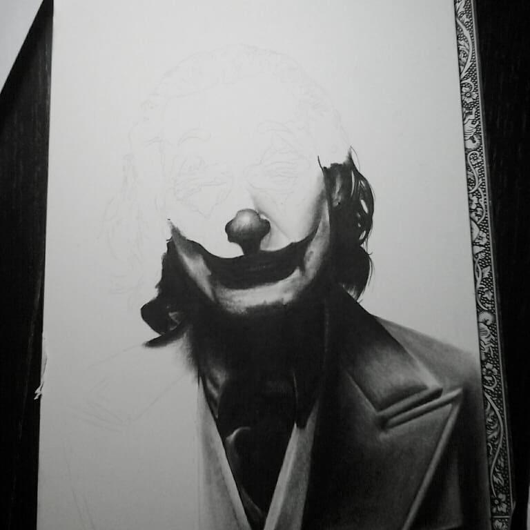 Little drawing of the new joker...in progress #germantattooers #germantattoo #ge