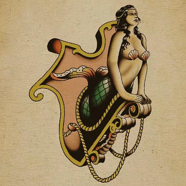 Mermaid, #stuckinthepasttattoo #dortmundfinest #bright_and_bold #topclass_tattoo