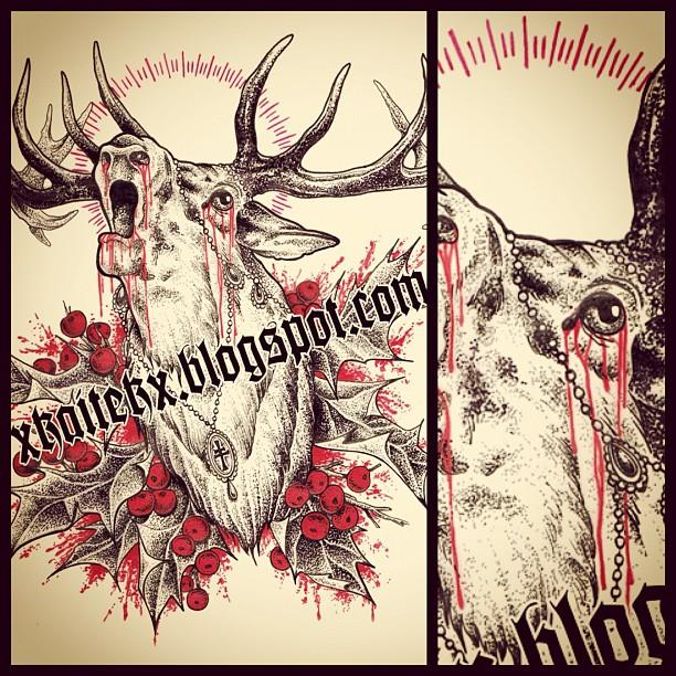 New design finished this evening...#art#artwork #tattoo #tattooart #linework #li...