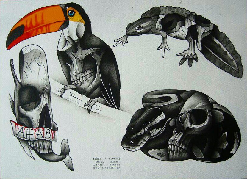 New flash! Whale and bridy already taken. Available for tattooing on the Tattoos