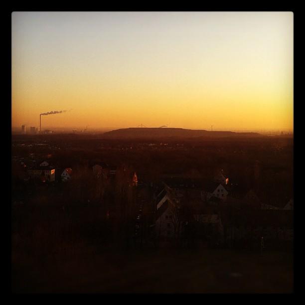 #Recklinghausen#skyline#dusk#sky#ruhrpott#halde...