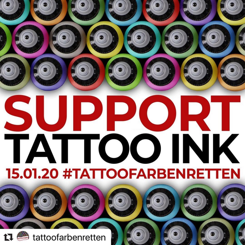 #Repost @tattoofarbenretten with @make_repost  ・・・  ES IST SOWEIT: LAS...