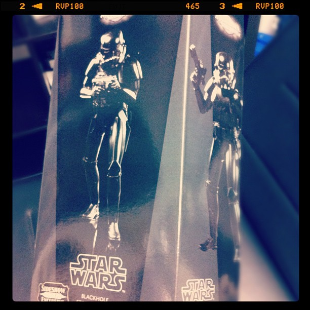 Santa Claus was there and left a Black Stormtrooper for me...  #starwars#stormtr...