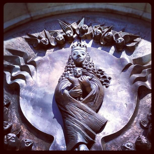 Seltsam? ...doch so steht es geschrieben #church#art#sculpture#catholicchurch#ma...