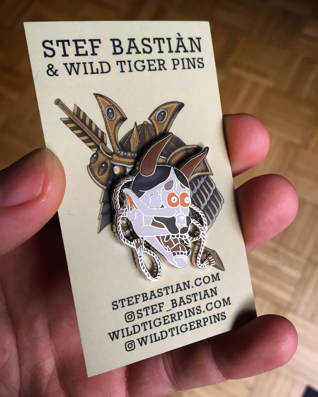So happy to be amongst the first people who got this awesome pin from my good fr...