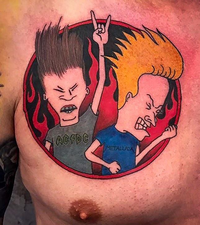 So much fun with this Lolek & Bolek Tattoo   #tattoo#tattooing#tatuagem#tatuage#...