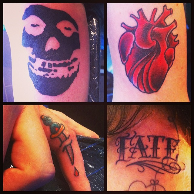 Some fun stuff from our first Walk-In Day @ Zeitgeist Tattoo, Bottrop. Thanks to...