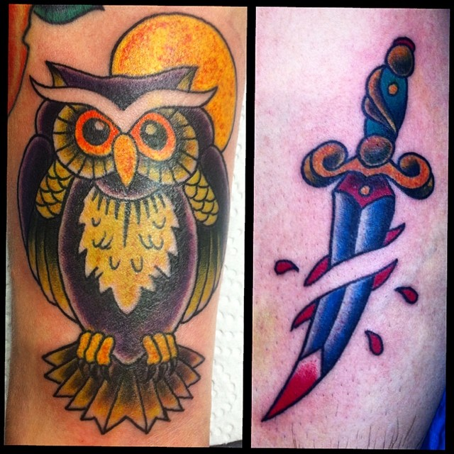 Some small Dortmund Convention Walk-Up Fun #tattoo #tattooing #dortmundconventio...