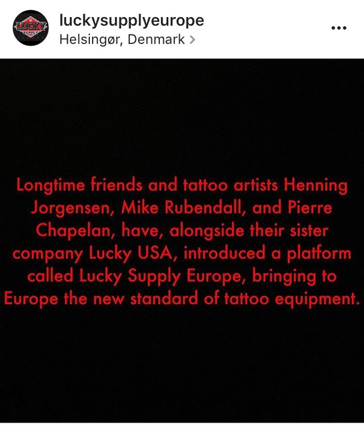 Spread the word!!! This was long overdue! All the best to @henning_royaltattoo, ...