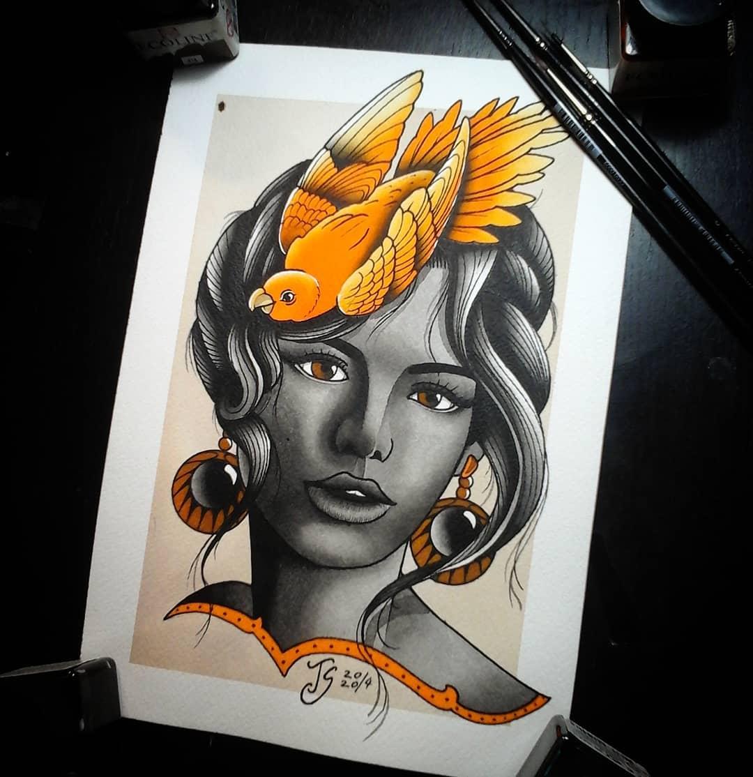 Stay at home and paint!  #germantattooers #germanartist #tattooworkers #tattooli