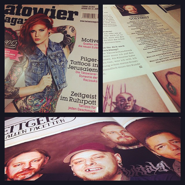 Still Hot - check out our interview in this month's issue of Germoney's biggest ...