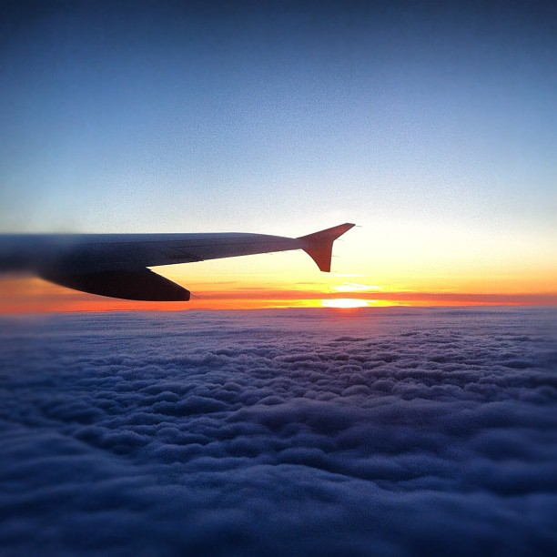 Sunrise over Ruhrpott! #sunrise#dawn#daybreak#ruhrpott #airbus #fly #flying #fli...