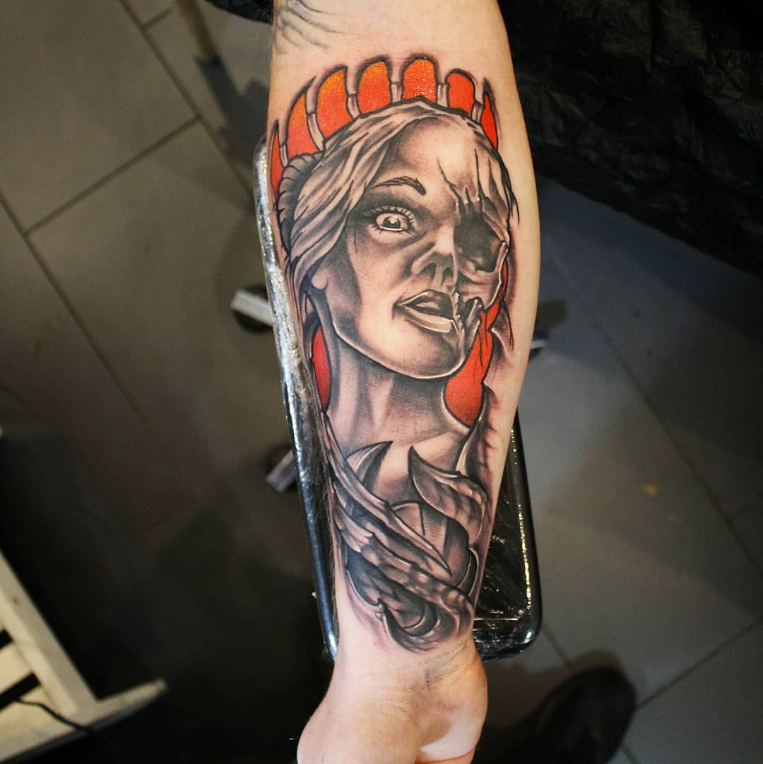 Thank you so much uwe. Originalcoverdesign by @tageloehner_tattoo  #germantattoo...
