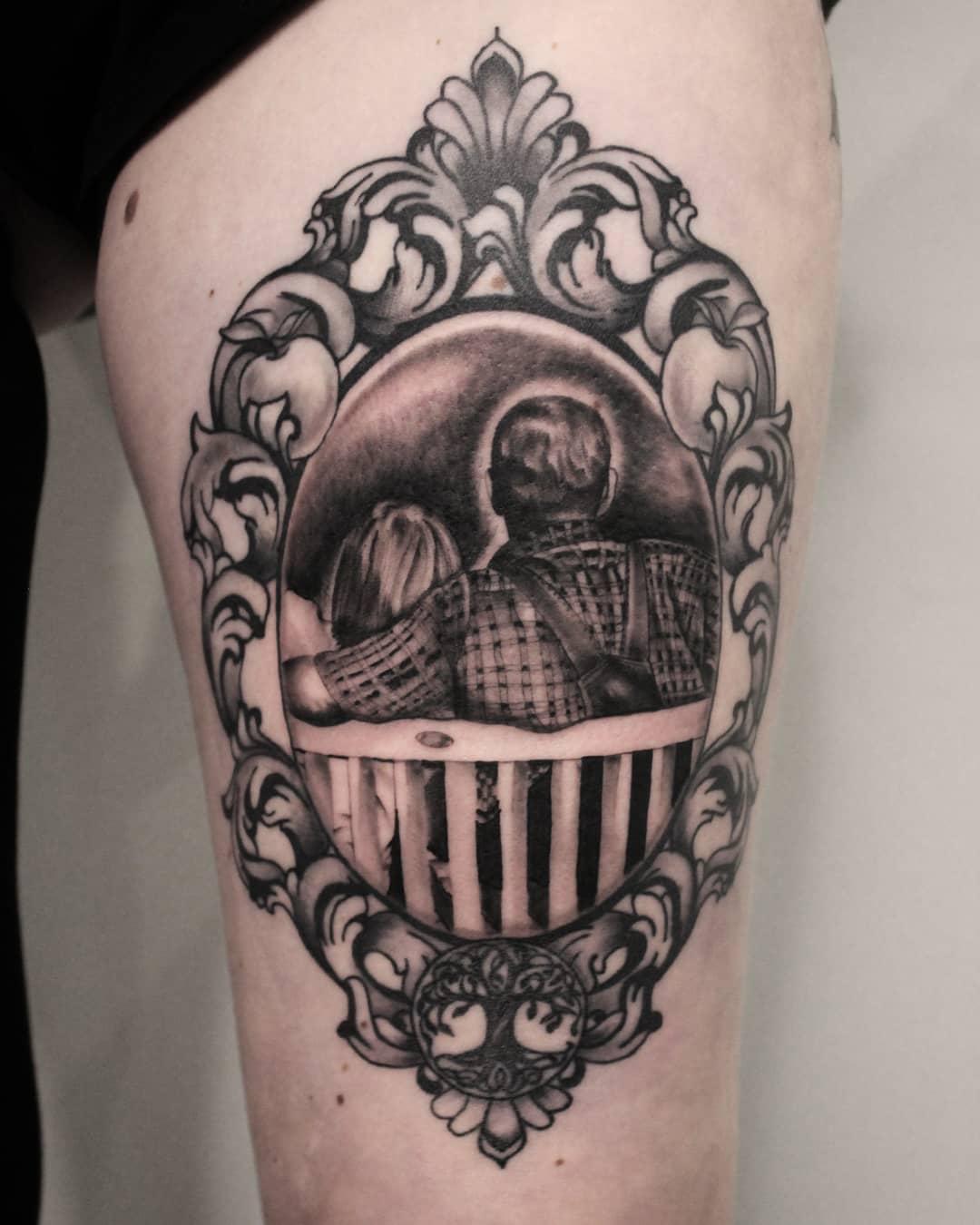 Thank you steffi! #germantattooers #tattooworkers #tattoolife #germanartist #bla