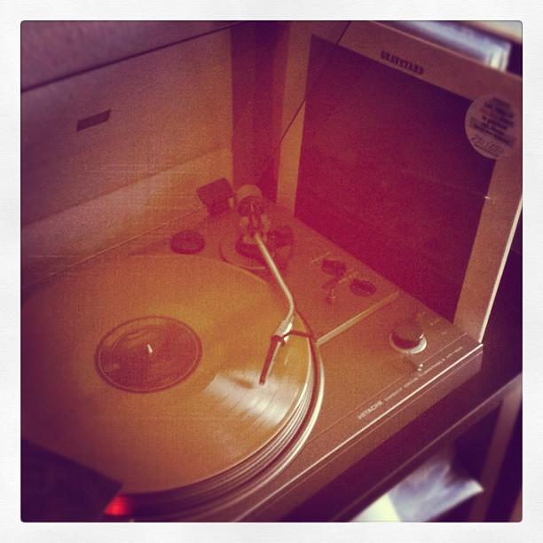 The new Graveyard Album finally arrived...! #vinyl#record#vinylrecord#graveyard#...
