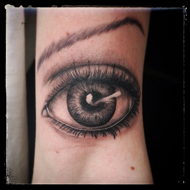 Third eye done today @royaltattoodk  #tattoo #tattooing #eye#eyeball#eyetattoo#t...