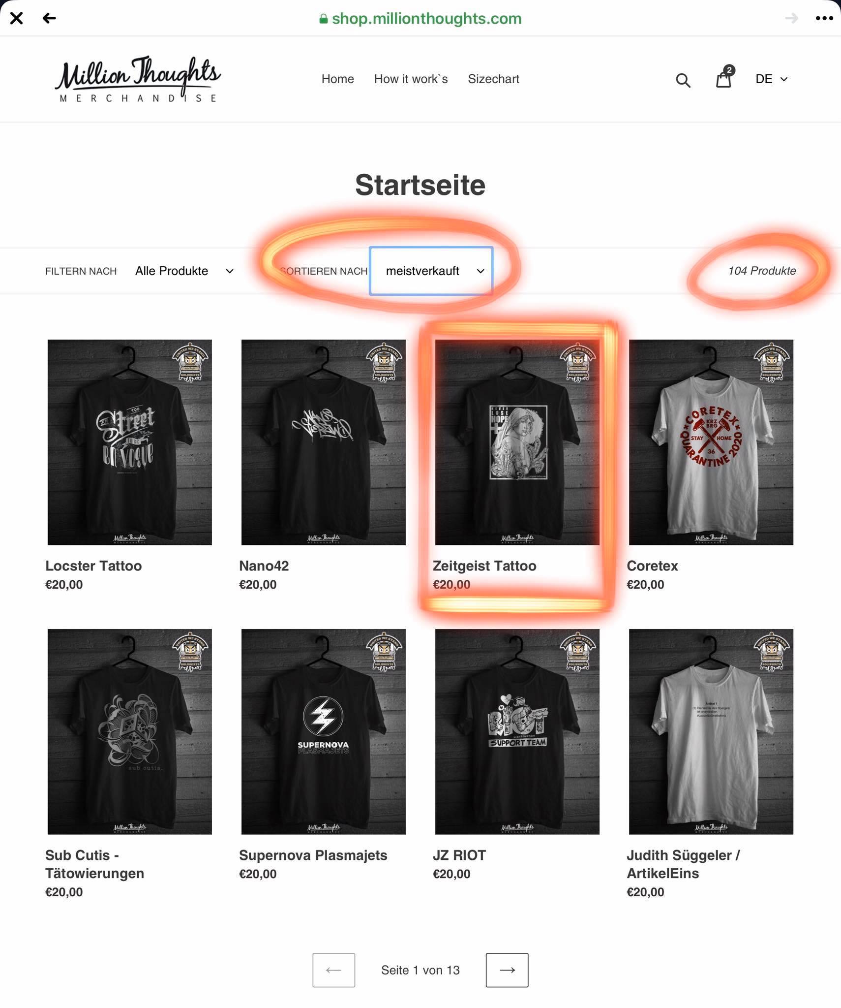 Unsere Soli-Shirt-Aktion ist angelaufen und wir sind absolut überwältigt von eur...