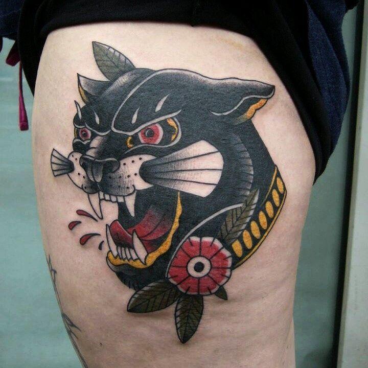 Wannado Panther von gestern vielen dank @taetowiermanufaktur für die , mega ents