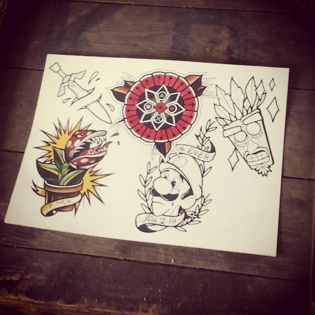 Working on my nerd-flash....also upnfor graps#germantattooers #tattoo #tattoofla