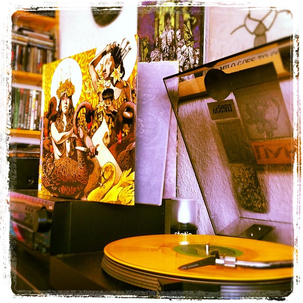 #baroness#yellowandgreen#yellow&green#vinyl#record#vinylrecord#vinyljunkie#gatef...