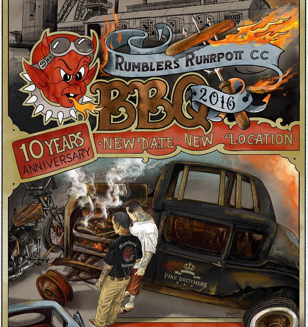 don't miss the rumblers bbq this weekend!! come and visit my booth, and see some