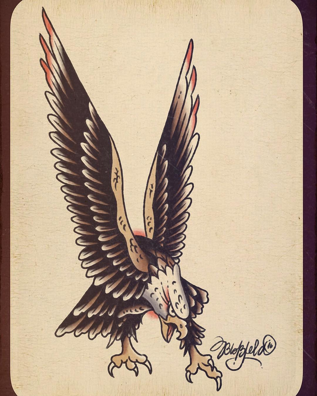 eagle flash, inspired by the old masters.. #matthiasblossfeld #sideshowtraveling