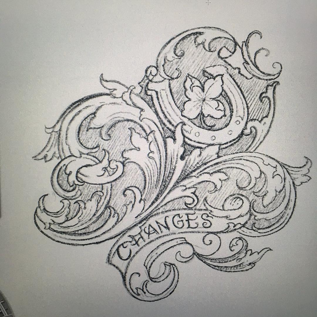 in progress.. #matthiasblossfeld #handwerkinschriftundgravur #sideshowtraveling