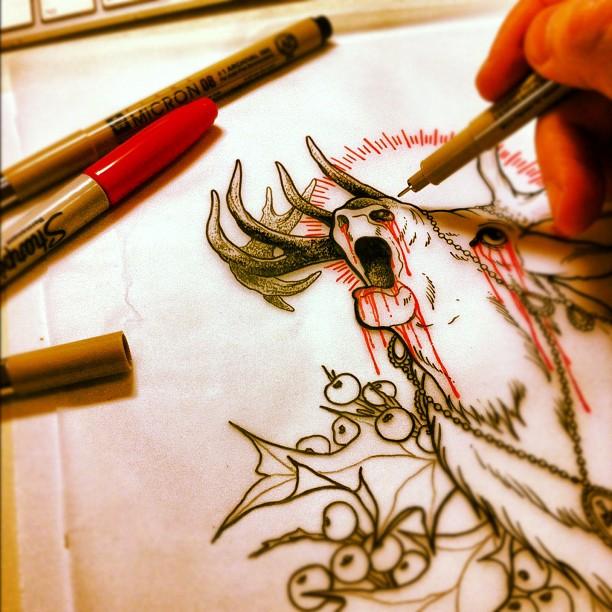 lazy sunday afternoon... #drawing #linework#art#artwork#ink#pencil#inkandpencil#...