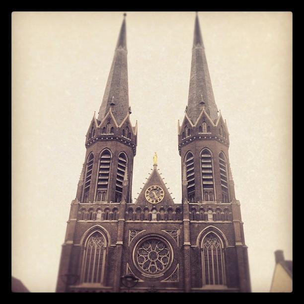 #tilburg#roadburn#roadburn2012#roadburnfestival#holland#church#doom#sky...